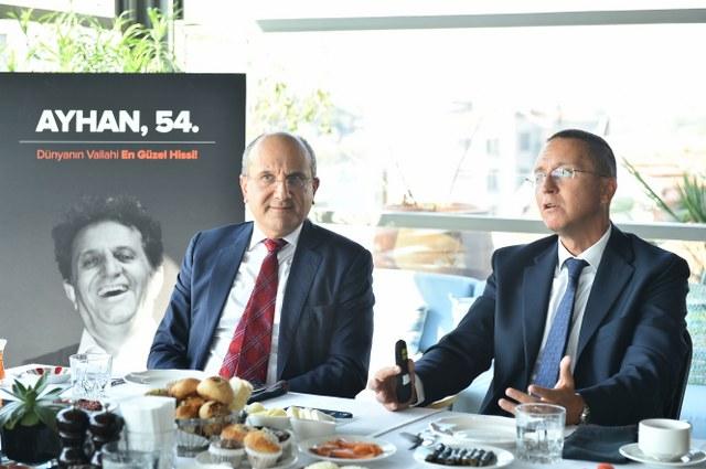 Türk Üroloji Derneği Başkanı Prof. Dr. Önder Yaman ve Türk Üroloji Derneği İkinci Başkanı Prof. Dr. Ateş Kadıoğlu'nu ağırladı.