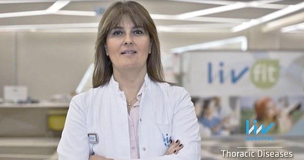 """Liv Hospital Göğüs Hastalıkları Uzmanı Prof. Dr. Ferah Ece """"Uyku bozuklukları solunum düzensizliklerine, bu düzensizlikler de kişinin gece boyunca bazen kısmi bazen de tamamen uyanmasına sebep olur."""