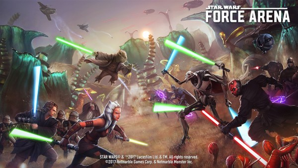 Yoda, Anakin Skywalker, Darth Maul ve General Grievous, oyuna lider karakterler olarak eklendi.