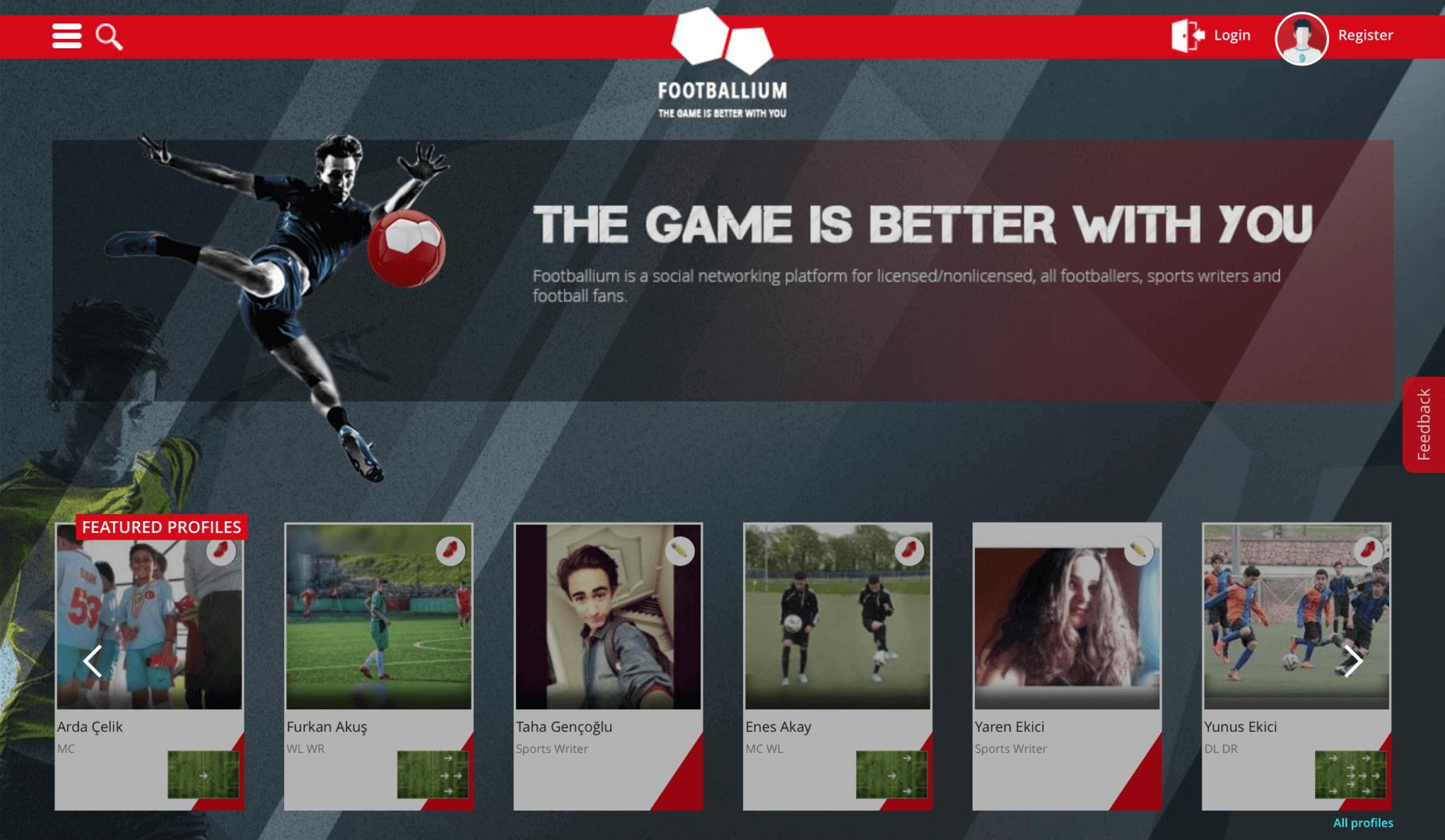 """Footballium Kurucu Ortağı Kemal Konuk """"footballium.com, dijital olarak futbolun tüm dinamiklerinin bir arada bulunup kişisel profillerini oluşturabileceği ve birbirleriyle etkileşime geçebileceği sosyal bir platform."""