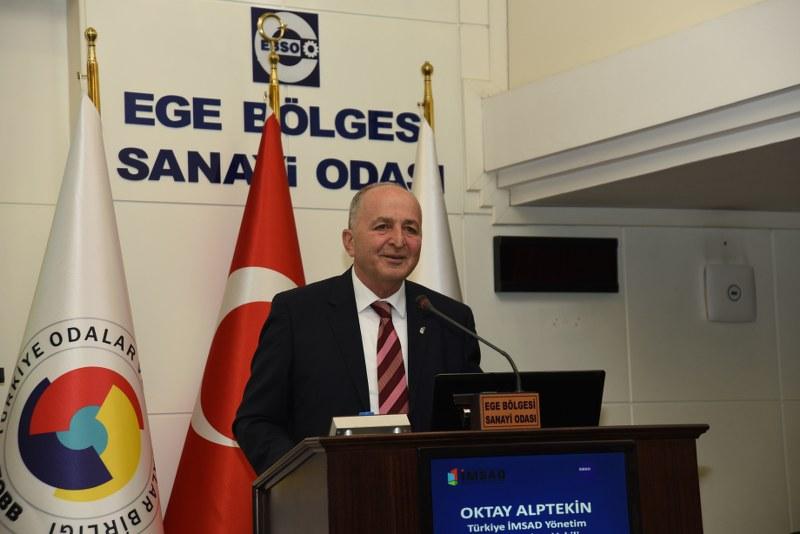 Türkiye İnşaat Malzemesi Sanayicileri Derneği (Türkiye İMSAD)'nin 'Anadolu Buluşmaları' kapsamında düzenlediği 'Sürdürülebilirlik Paylaşım Günü' toplantısı.
