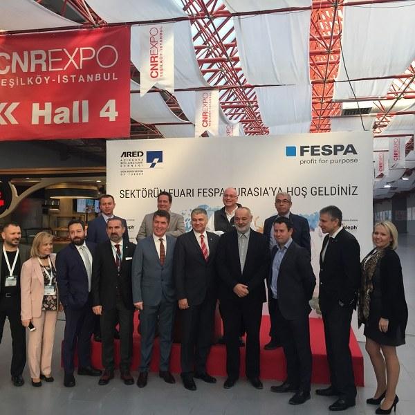 Avrasya bölgesi açıkhava reklamcılarının uluslararası buluşma noktası FESPA Eurasia'nın dördüncüsü ARED-FESPA işbirliğiyle İstanbul, CNR Expo Fuar Merkezi'nde gerçekleşti.