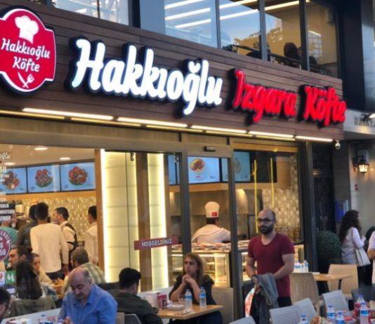 Harun Tülübaş'ın yeni markası Hakkıoğlu Izgara Köfte'nin görseli Websiad'da.